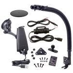 AIB75188 | iBOLT Bundle - mPro Dock with Hardwire Kit and Seat Rail Mount