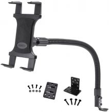 TAB188L22 | Arkon Tablet Mount 22in Flexible Gooseneck Seat Rail Floor Mount