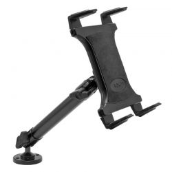TAB805 | Arkon Tablet Mount Bundle 10in Heavy-Duty Aluminum Mount with 4-Hole Drill Base