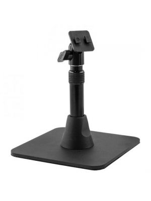 HD008 | Arkon Heavy Duty Pedestal Weighted Base w/ Telescoping 7.5in to 9.75in Height Adjustable Shaft with Dual T-Tab Head