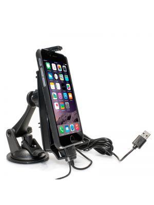 IBA-33450 | Arkon iPhone Charging Car Dock for iPhone X, 8, 8 Plus, 7, 6S Plus, 7, 6S
