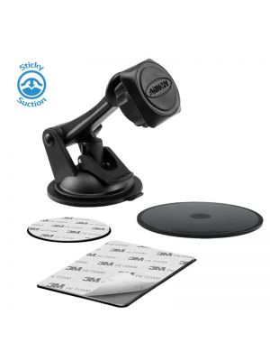 MAG179 | Arkon Magnetic Mount Series - Sticky Suction Windshield or Dash Mount