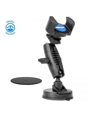 RM179 | Arkon TW Broadcaster Single-Phone Desk or Table Sticky Suction Mount