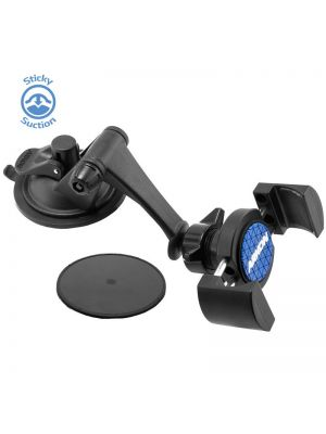 RV179 | Arkon RoadVise Series - Sticky Suction Universal Smartphone Mount for Dash / Windshield (RV001WR + GN079)