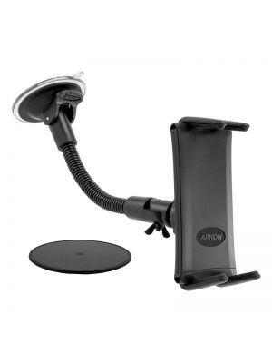 SM620 | Arkon Slim-Grip ULTRA Mount 8in Gooseneck Windshield / Dashboard Mount