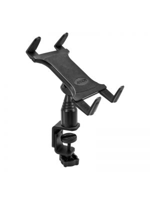 TAB086 | Arkon Tablet Mount Bundle 4in Adjustable Height C-Clamp Mount with Universal Tablet Holder