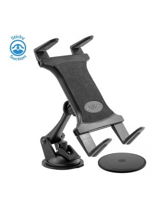 TAB179 | Arkon Sticky Suction Windshield or Dash Tablet Mount for iPad, iPad Air, Samsung Galaxy