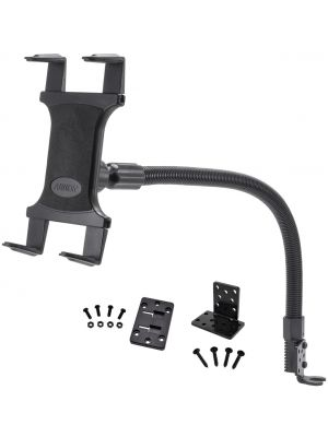 TAB188L22 | Arkon Tablet Mount 22in Flexible Gooseneck Seat Rail Floor Mount