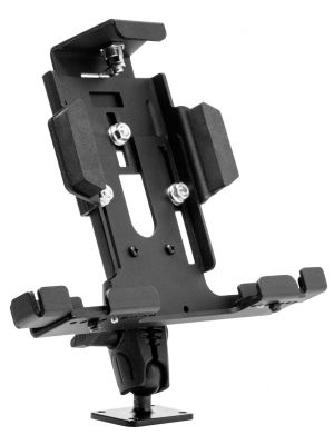 TAB4METKL | Arkon Universal Metal Locking Tablet Holder with 4-Hole AMPS Metal Base