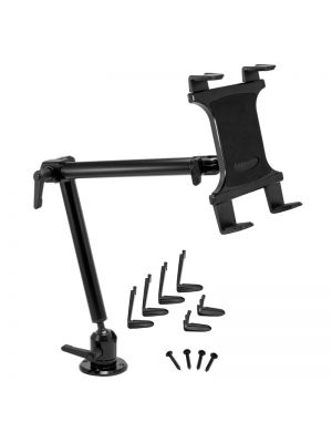 TAB803 | Arkon Tablet Mount Bundle 22in Heavy-Duty Aluminum 4-Hole Drill Base