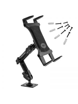 TAB806 | Arkon Tablet Mount Bundle 8in Heavy-Duty Multi-Angle with 4-Hole Drill Base