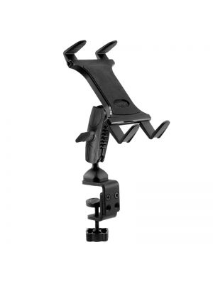 TABRM086 | Arkon Heavy-Duty Clamp Tablet Mount for Tripods, Carts, Tables, Desks for iPad Air 2, iPad 4, 3, 2, Galaxy