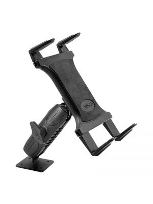 TABRMAMPS-MET | Arkon Drill-Base Tablet Mount for Apple iPad Air 2, iPad Pro, iPad 4, 3, 2, Samsung Galaxy Tablets